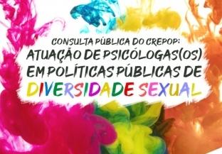 You are currently viewing Consulta pública do CREPOP: Atuação de psicólogas(os) em políticas públicas de Diversidade Sexual