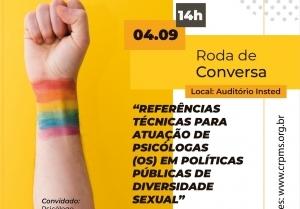 You are currently viewing Conselho debaterá Referências Técnicas para atuação em Políticas Públicas de Diversidade Sexual