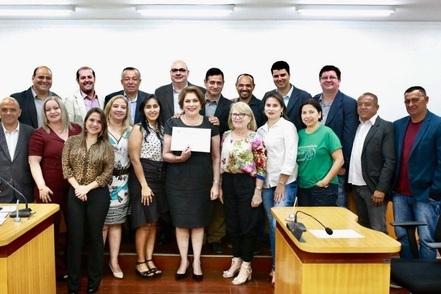 You are currently viewing Câmara Municipal homenageia profissionais da psicologia durante sessão em Corumbá