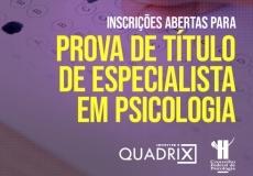 You are currently viewing [Notícia CFP] Inscrições abertas para prova de título de especialista em Psicologia