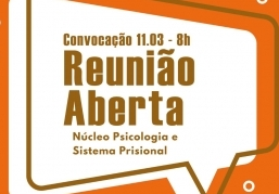 You are currently viewing Reunião Aberta – Convocação – 11.03 – 8h