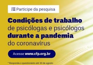 You are currently viewing CFP realiza pesquisa sobre condições de trabalho da categoria no contexto da pandemia