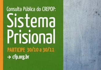You are currently viewing Consulta Pública do Crepop: Sistema Prisional