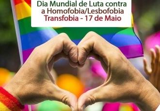 You are currently viewing 17 de Maio: Dia Internacional contra a Homofobia, a Lesbofobia e a Transfobia