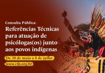 You are currently viewing Consulta Pública do Crepop: Atuação junto aos povos indígenas