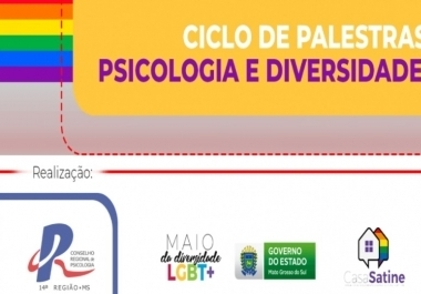 You are currently viewing Subsecretaria de Políticas Públicas LGBT de Mato Grosso do Sul (SUBSLGBT) promove ciclo de debates sobre Psicologia e Diversidade Sexual com o apoio do CRP14/MS