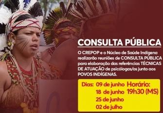 """You are currently viewing CRP14/MS abre a Consulta Pública das """"Referências Técnicas para atuação de psicólogas(os) junto aos Povos Indígenas"""""""