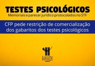 You are currently viewing CFP protocola no STF memoriais e parecer jurídico que reforçam a legalidade da restrição de comercialização dos gabaritos dos testes psicológicos