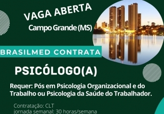 You are currently viewing BrasilMed contrata Psicólogo(a)