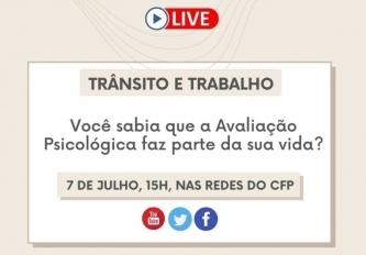 You are currently viewing CFP promove série de lives sobre Avaliação Psicológica