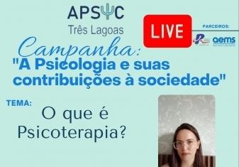 You are currently viewing Live sobre a diferença da Psicoterapia e Terapia e as diferentes abordagens da Psicoterapia