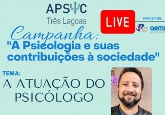 """You are currently viewing Live: """"A Psicologia e suas contribuições à sociedade"""", nesta quinta (19/08)"""