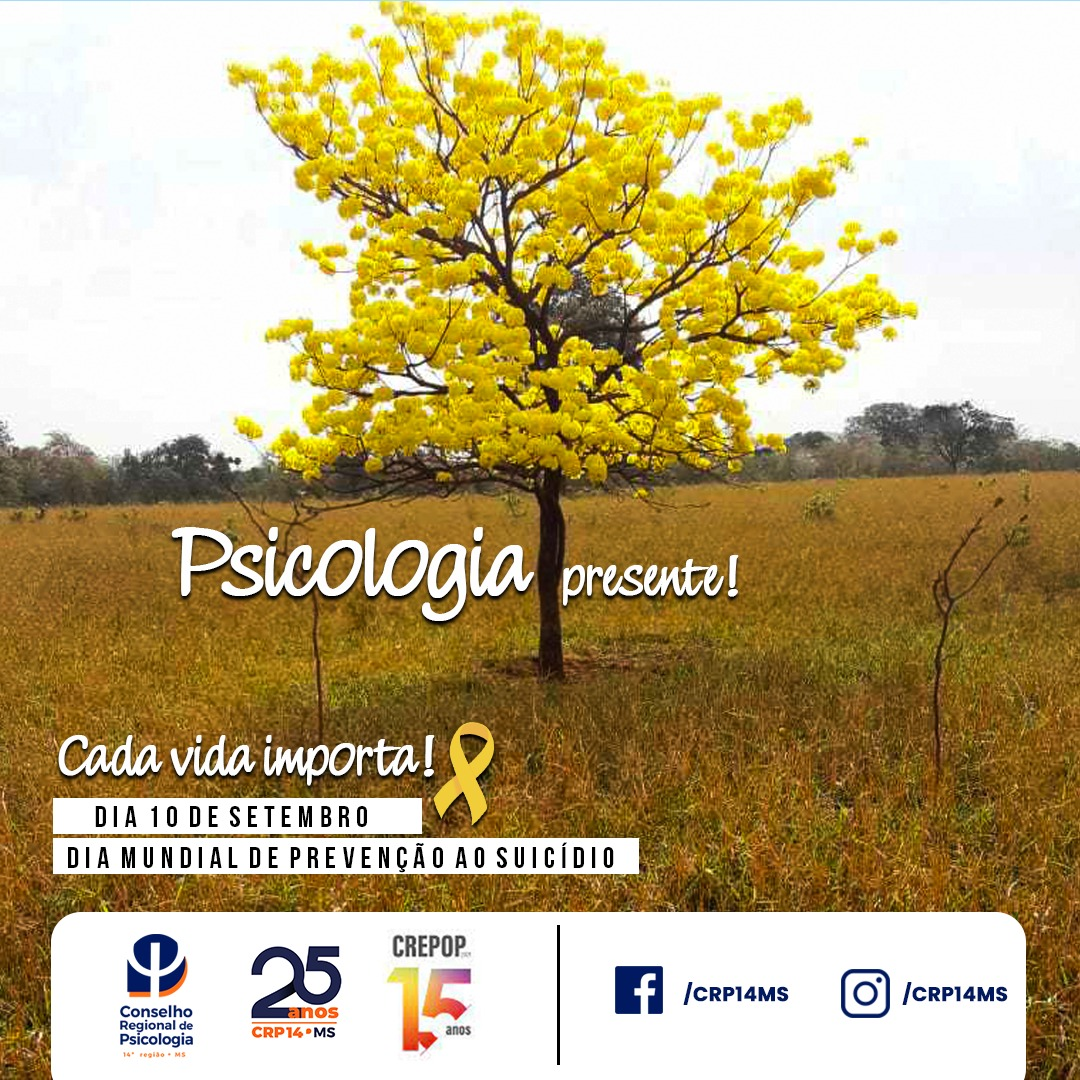Read more about the article Setembro Amarelo: Psicologia Presente!