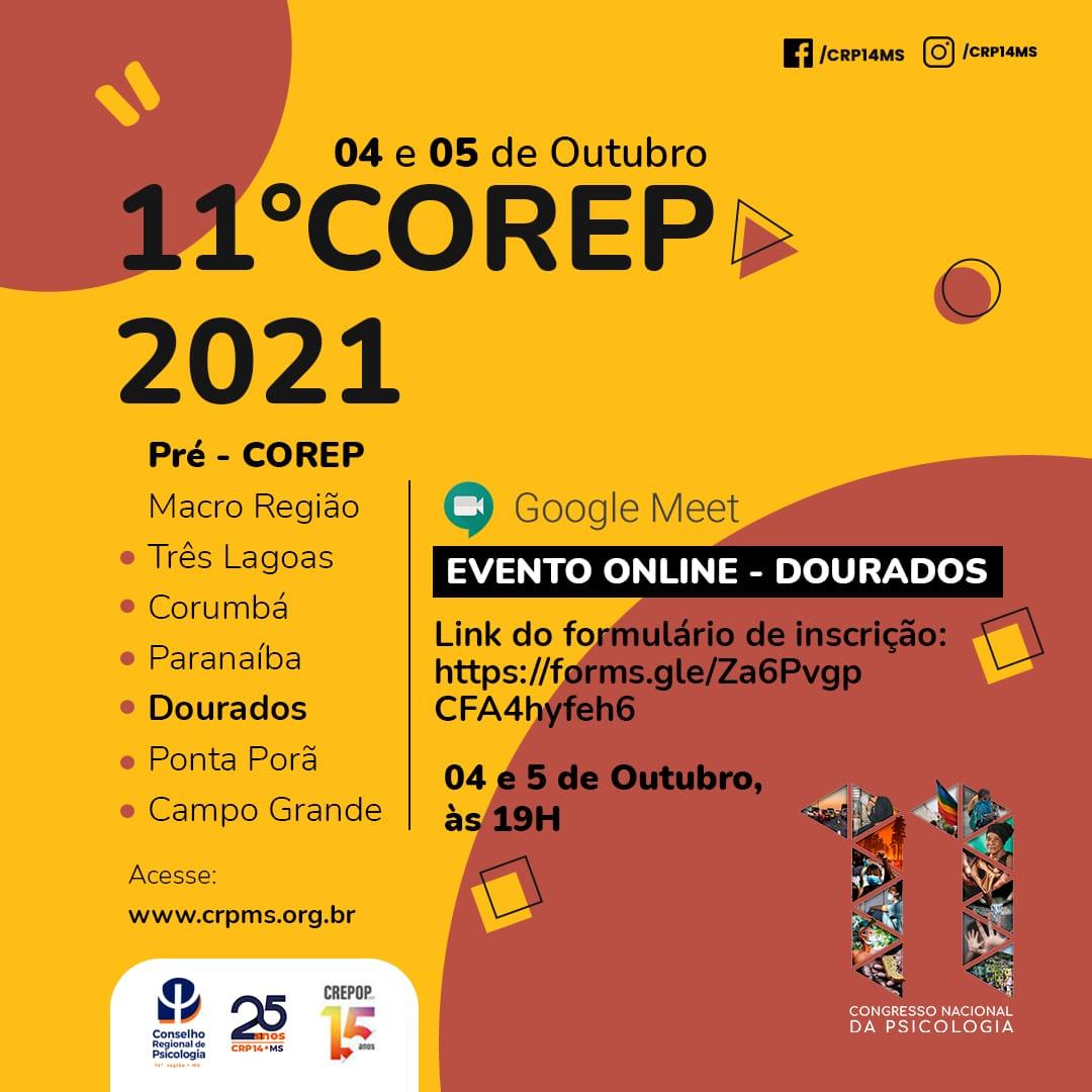 Read more about the article Inscrição Pré-Corep CRP14/MS – Macrorregião de Dourados