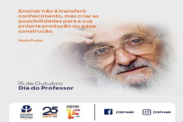 Read more about the article 15 de Outubro – Dia das(os) Professoras(es)